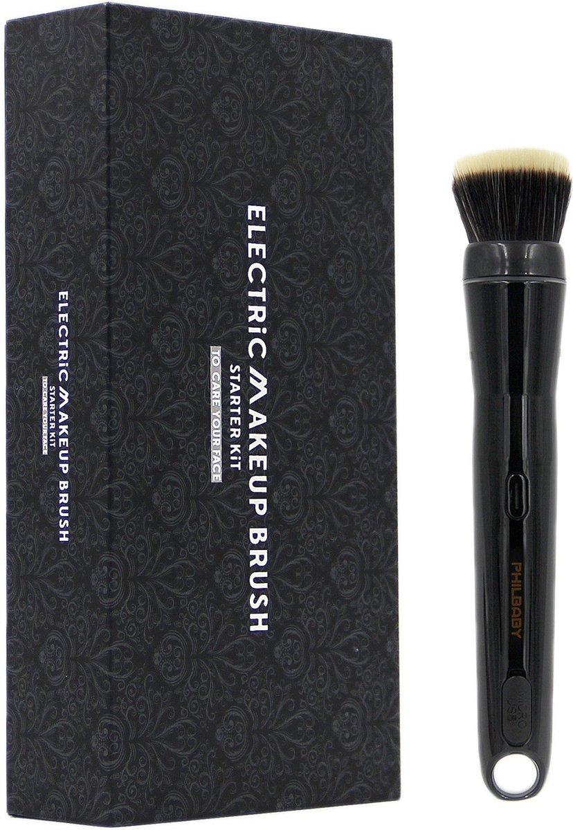 Amorphia® Make-up kwast elektrisch - Foundation kwast - Blush kwast - Electric make up brush - Elektrische makeup borstel - make-up kwast set