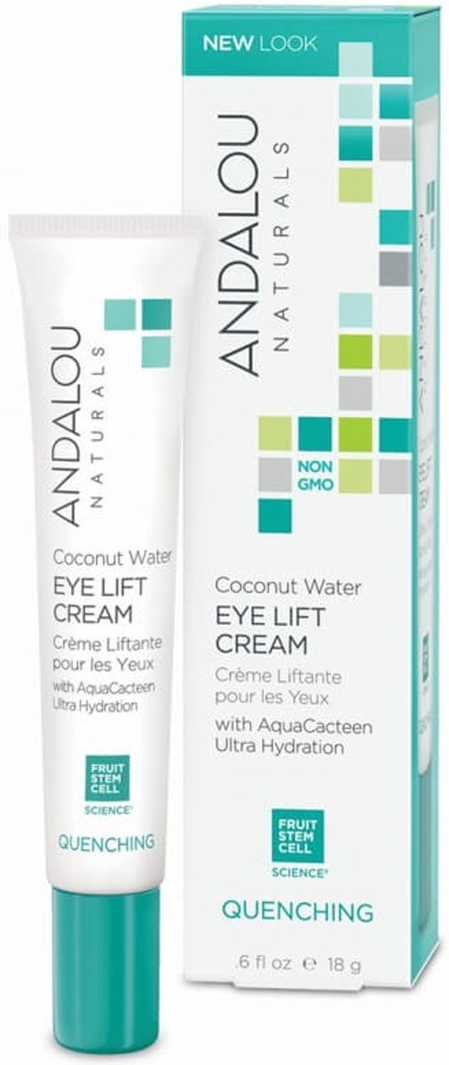 Andalou Naturals Coconut Water Eye Lift Cream - Quenching 18g.