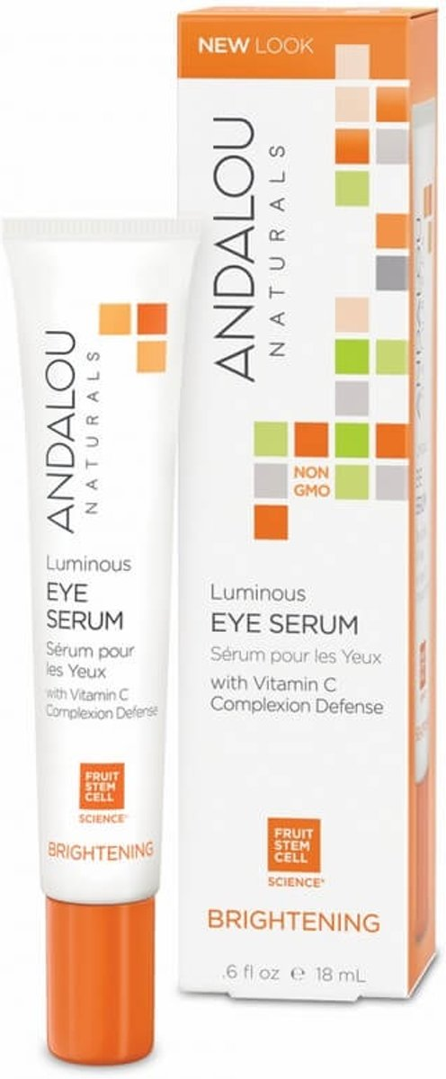 Andalou Naturals Luminous Eye Serum - Brightening 18ml.