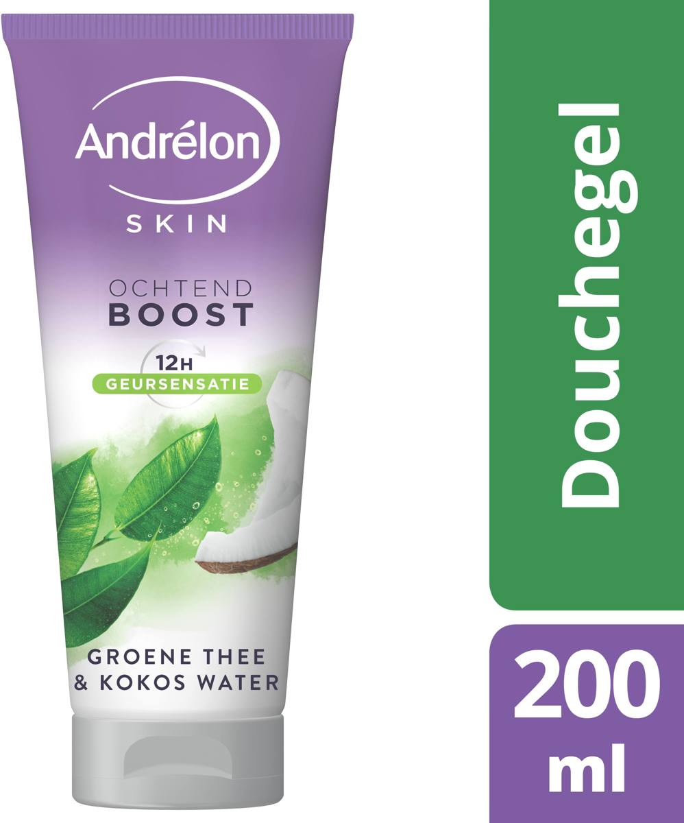 Andrelon Groene Thee & Kokos-water - 200 ml - Douchegel