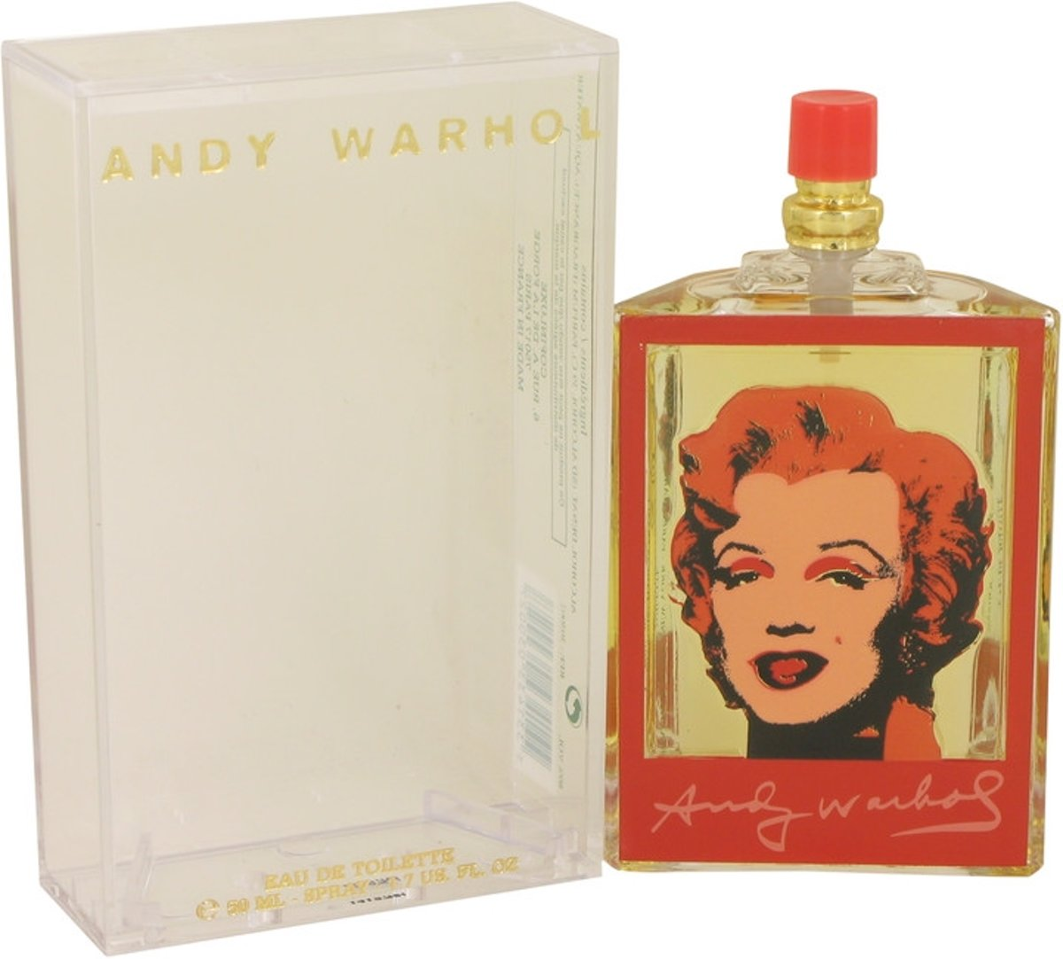 Andy Warhol Andy Warhol Marilyn Red eau de toilette spray 50 ml