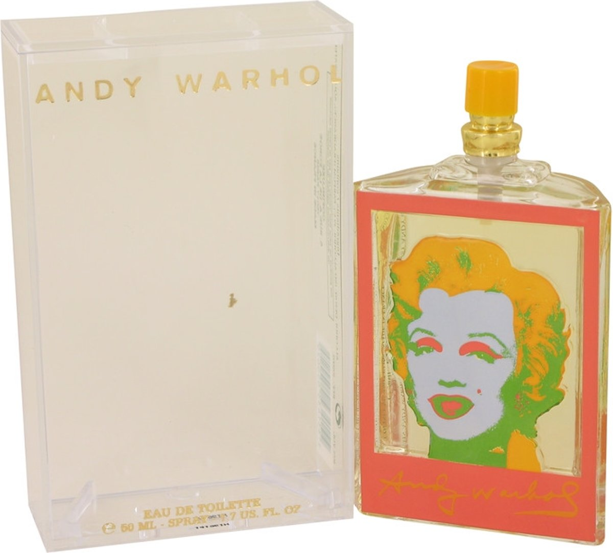 Andy Warhol Andy Warhol Orange eau de toilette spray 50 ml