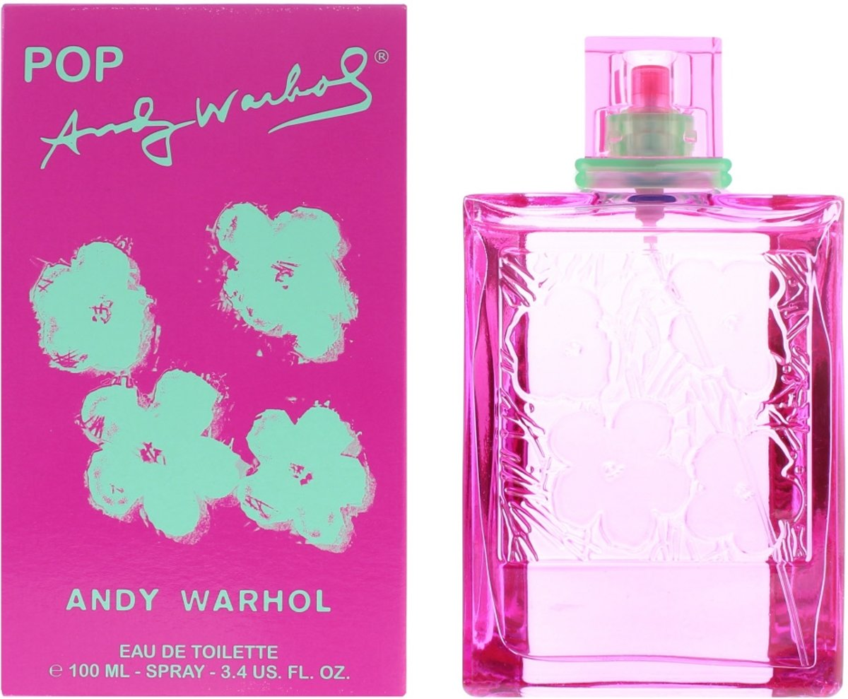 Andy Warhol Pop Edt F 100ml Spr
