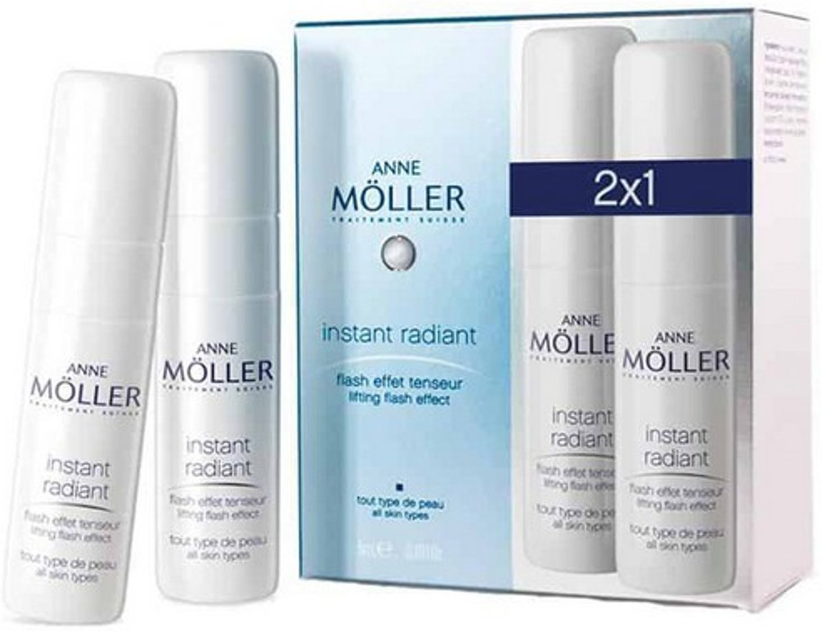 Anti-Aging Crème Lifting Effect Instant Radiant Anne Möller (2 uds)