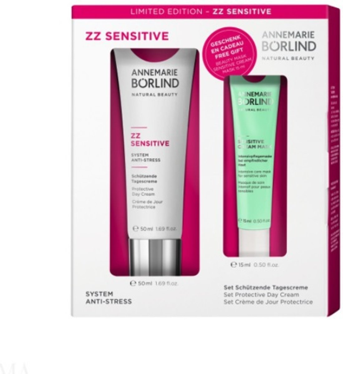 Annemarie Borlind Geschenkset zz sensitive limited edition