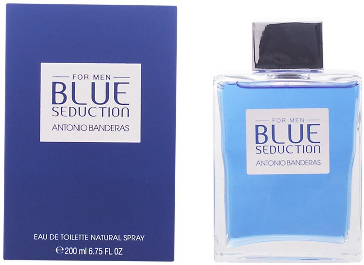 Antonio Banderas BLUE SEDUCTION MAN eau de toilette spray 200 ml