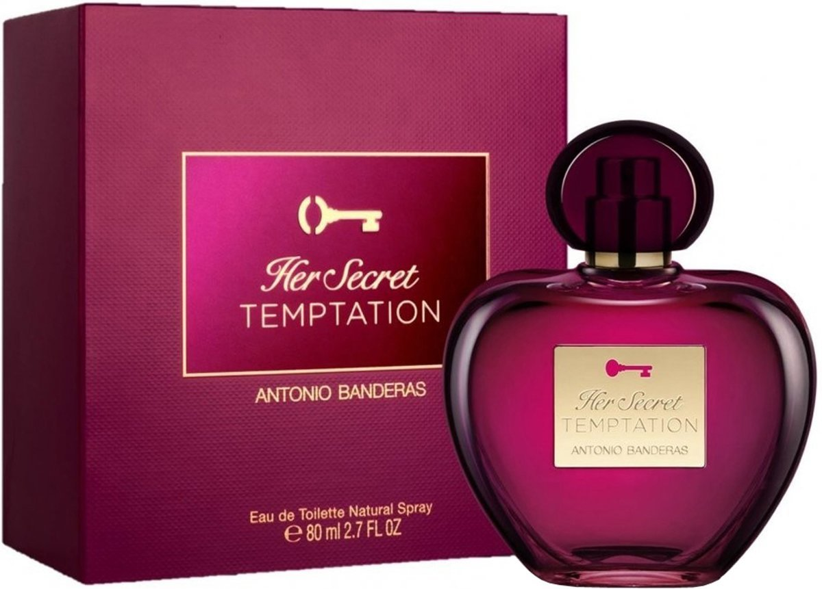 Antonio Banderas Her Secret Temptation 80ml EDT Spray