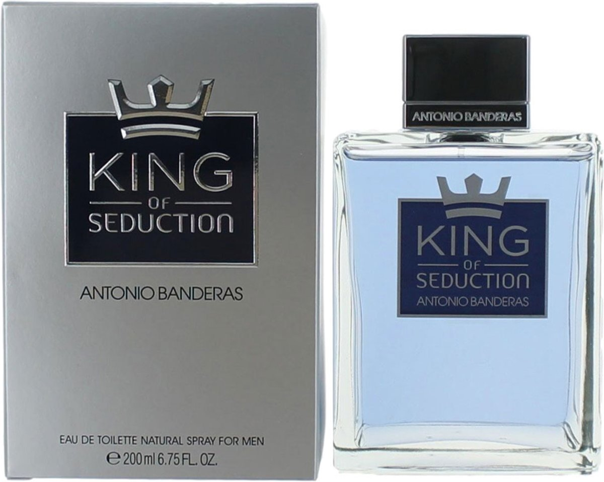 Antonio Banderas King of Seduction 200ml EDT Spray