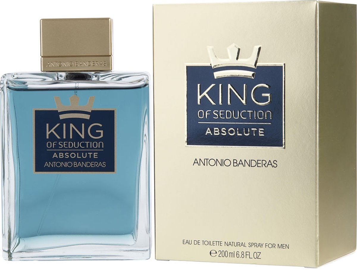 Antonio Banderas King of Seduction Absolute 200ml EDT Spray