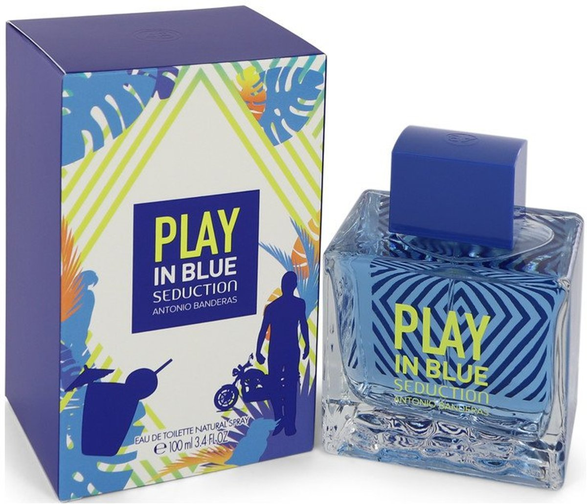 Antonio Banderas Play In Blue Seduction eau de toilette spray 100 ml