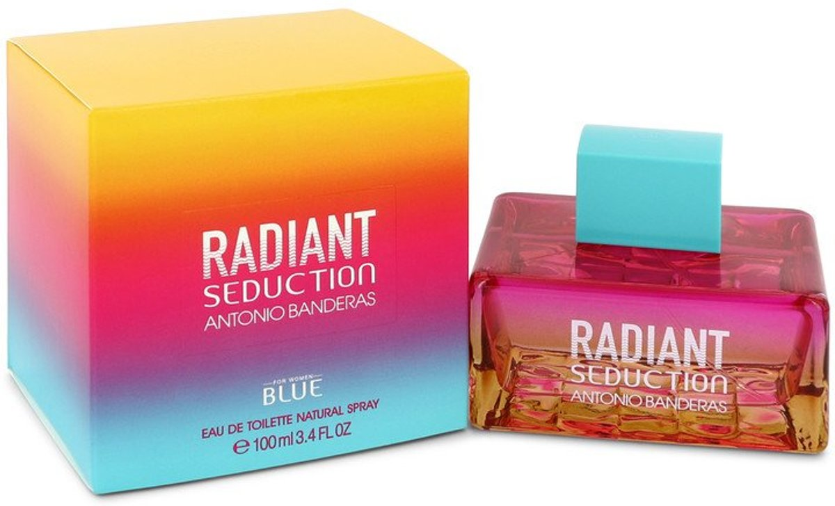 Antonio Banderas Radiant Seduction Blue eau de toilette spray 100 ml