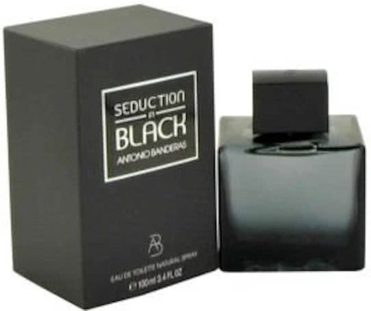 Antonio Banderas Seduction In Black - 100 ml - Eau De Toilette