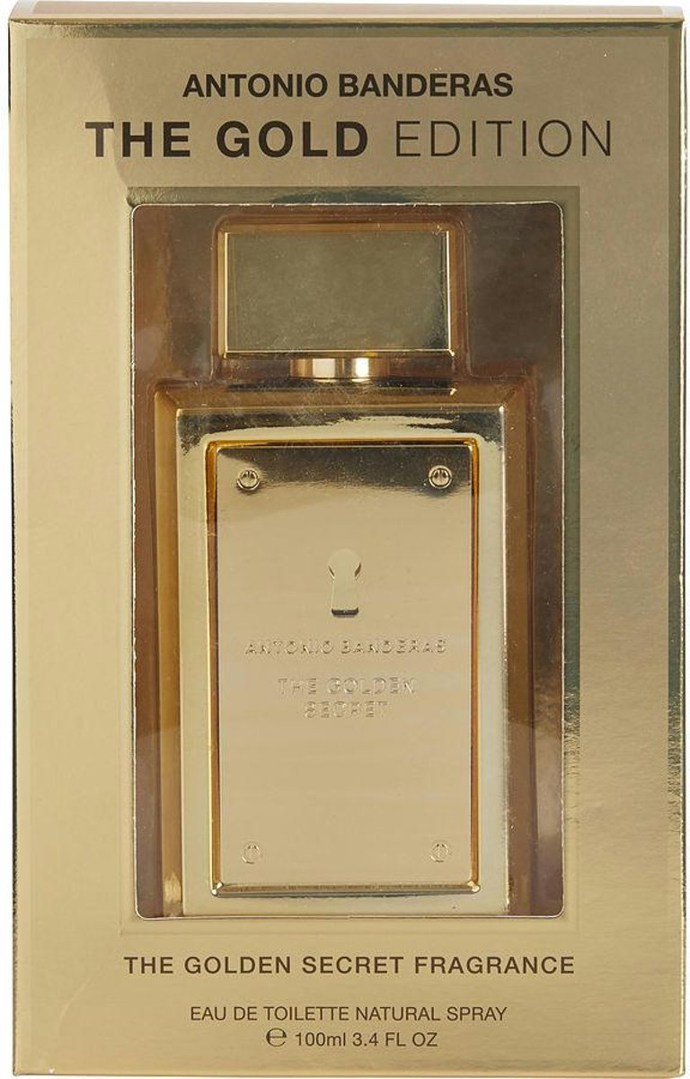 Antonio Banderas The Golden Secret By Antonio Banderas Edt Spray 100 ml - parfumerie voor dames