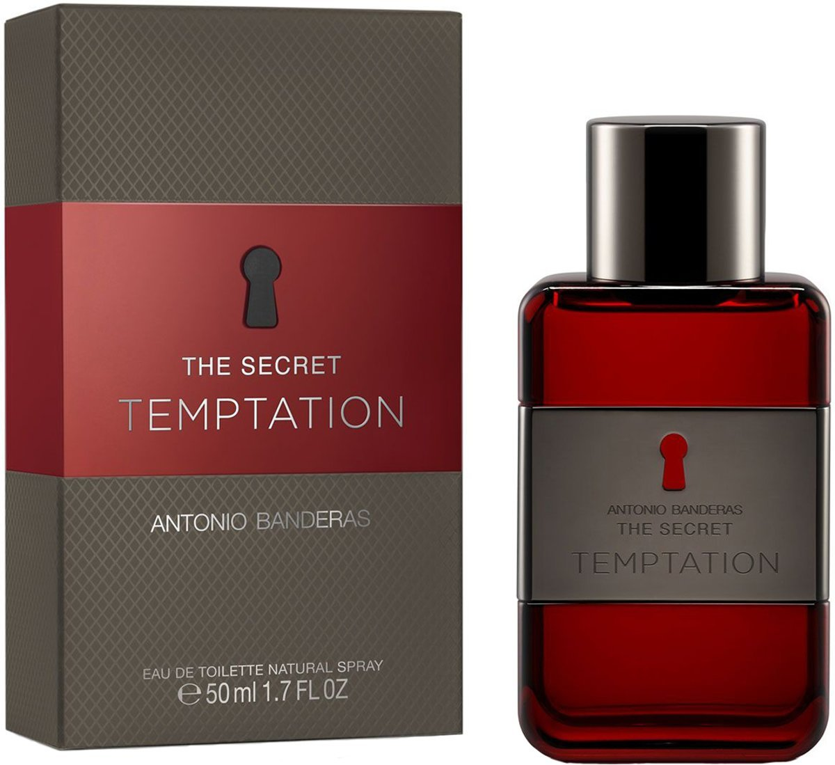 Antonio Banderas The Secret Temptation 50ml EDT Spray