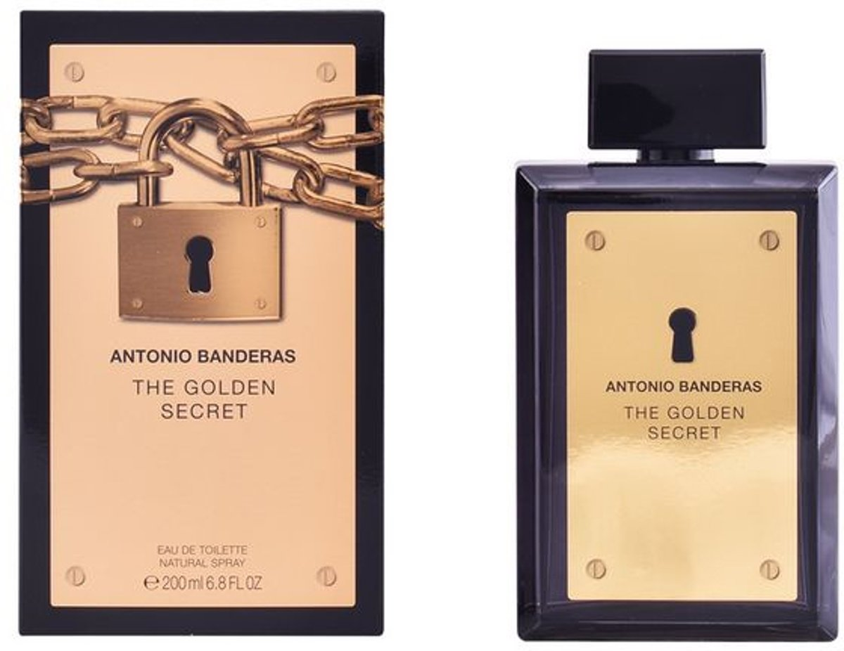 Herenparfum The Golden Secret Antonio Banderas EDT (200 ml)