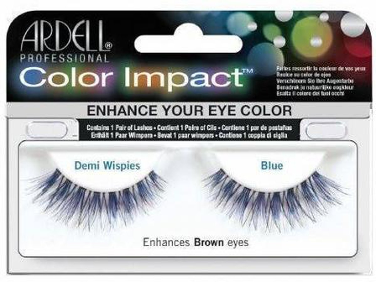 Ardell - Color Impact Lashes Demi Wispies Blue