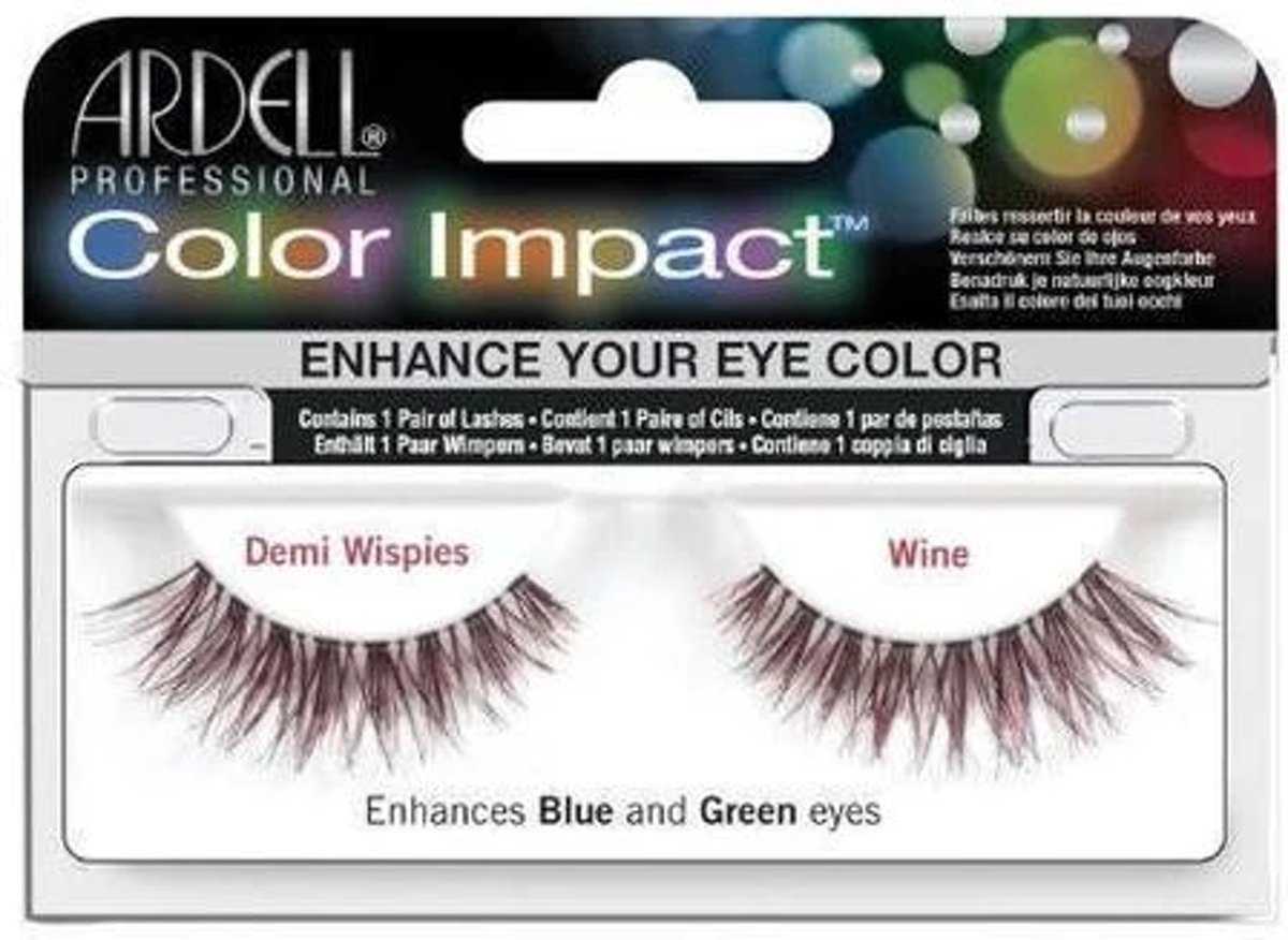 Ardell - Color Impact Lashes Demi Wispies Wine