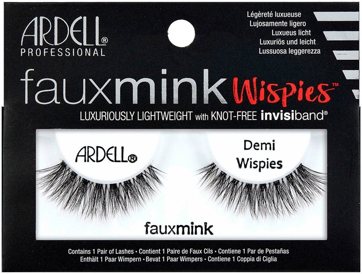 Ardell - Faux Mink Lashes Black Demi Wispies