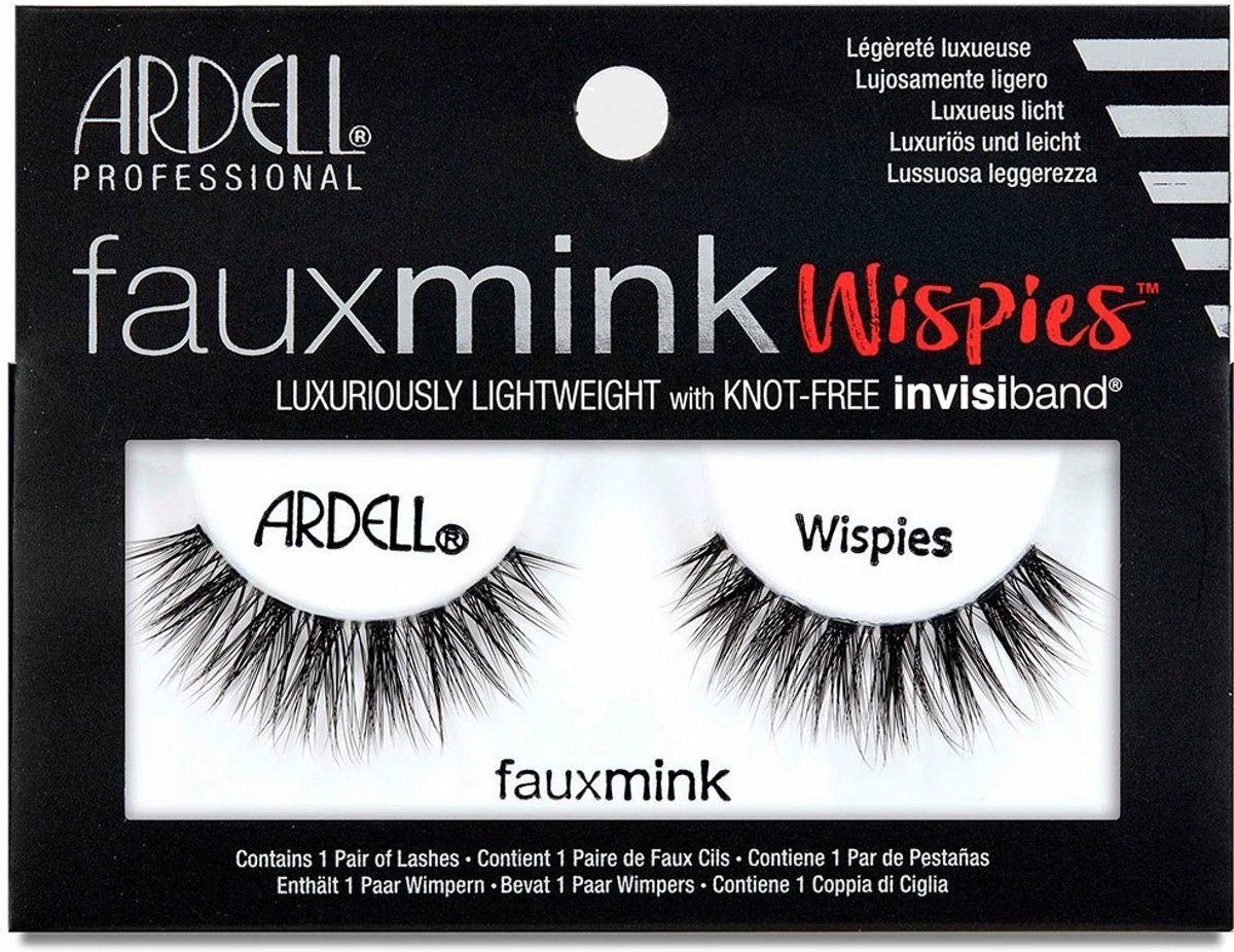 Ardell - Faux Mink Lashes Black Wispies