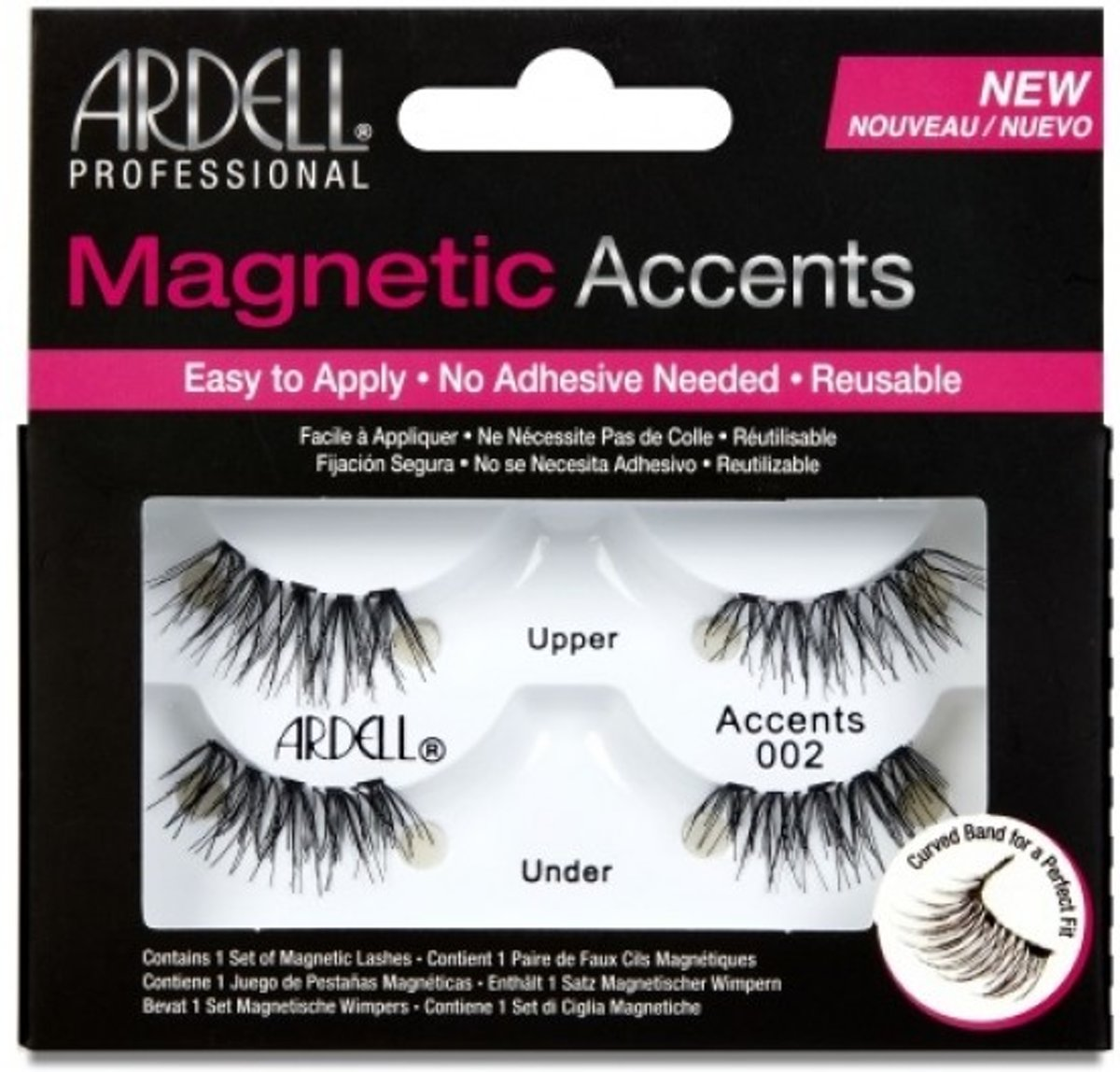 Ardell - Magnetic Accents 002- Black - herbruikbaar