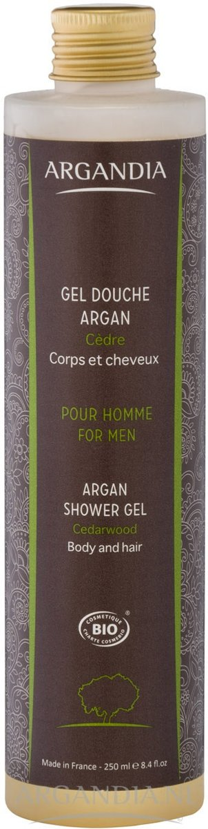 Argan Douchegel Cederhout