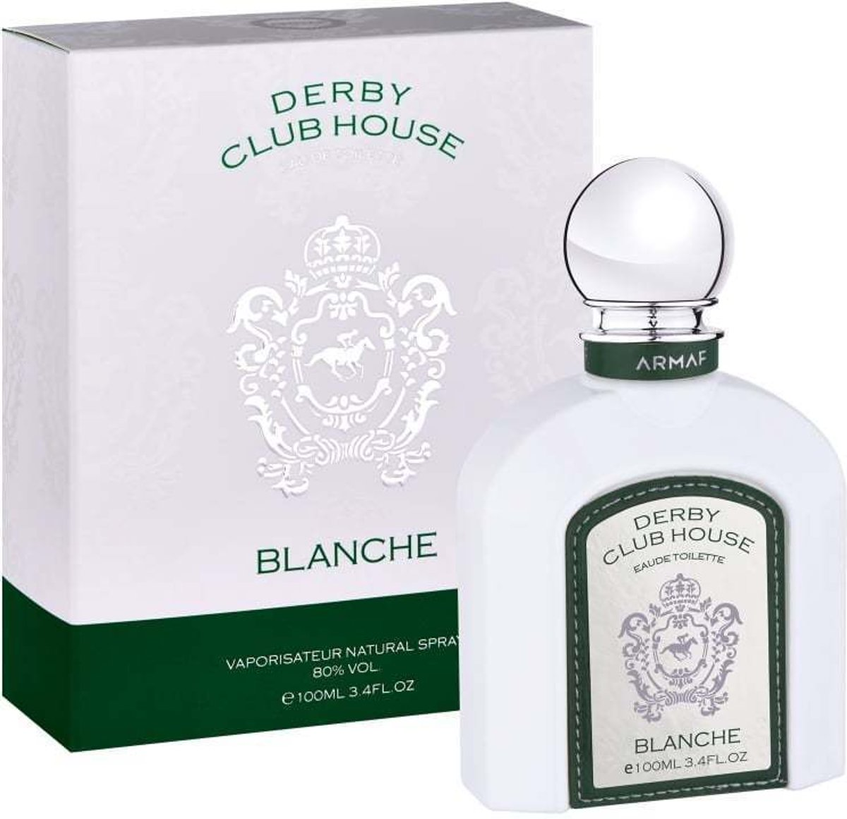Armaf Derby Club House Blanche Eau de Toilette 100ml Spray
