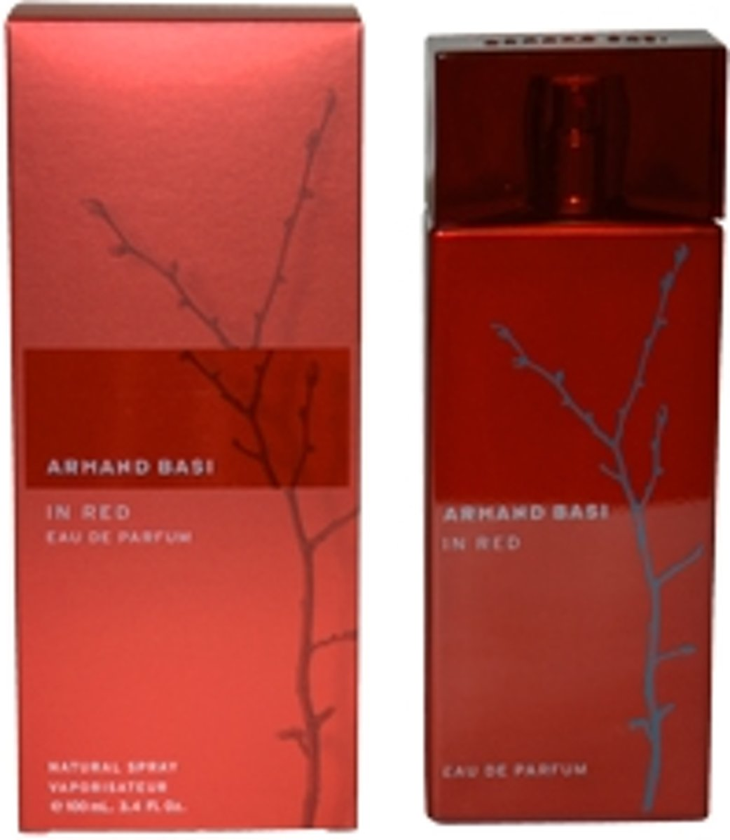 Armand Basi in Red Women - 100 ml - Eau de toilette
