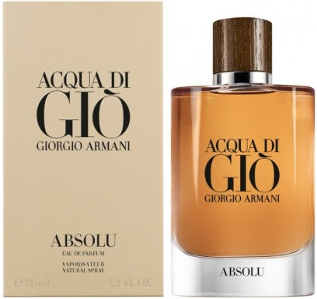 ARMANI ACQUA DI GIÒ ABSOLU(M)EDP 125ML