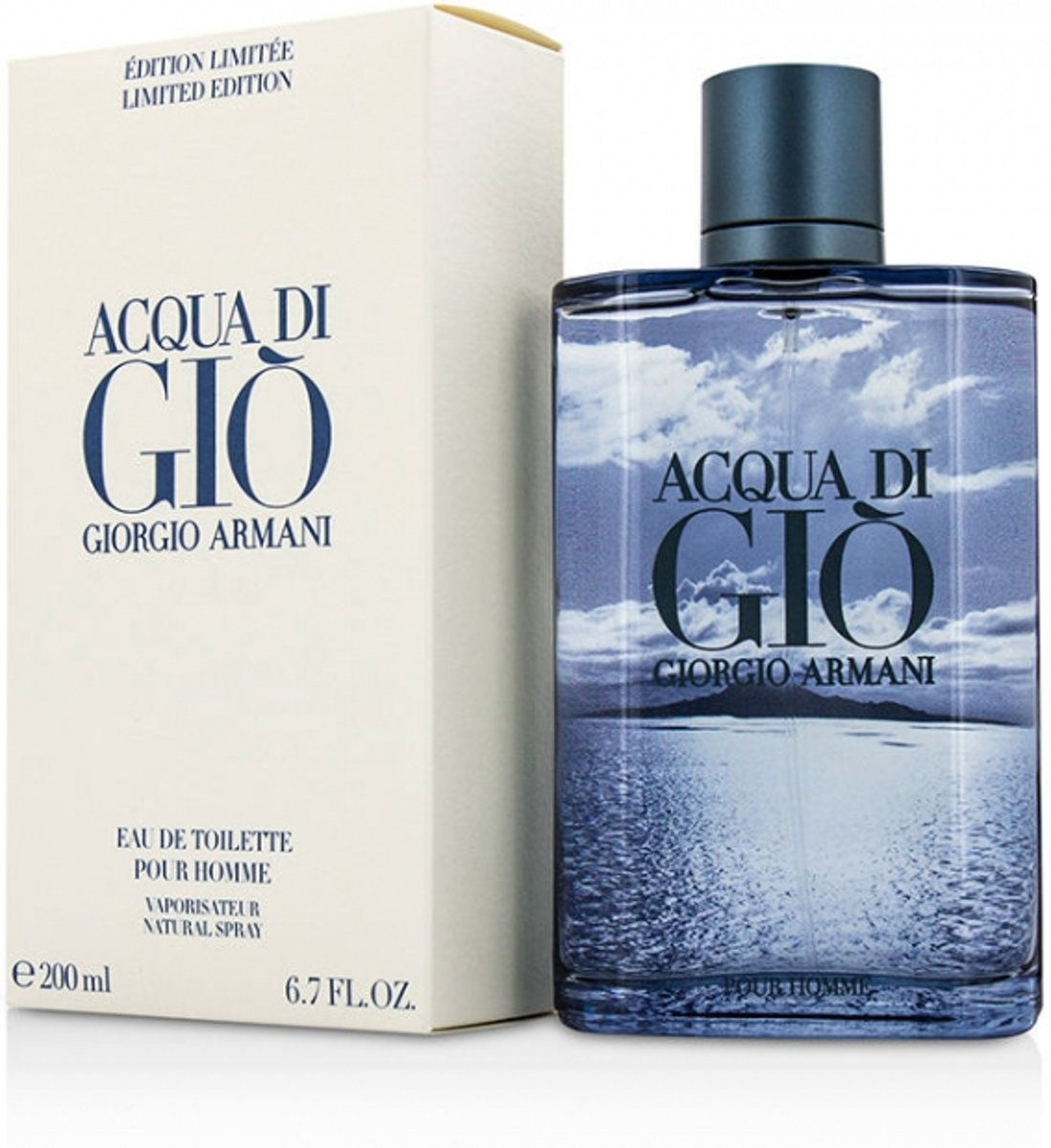 Armani Acqua Di Gio - EdT Spray - 200 ml - Herenparfum