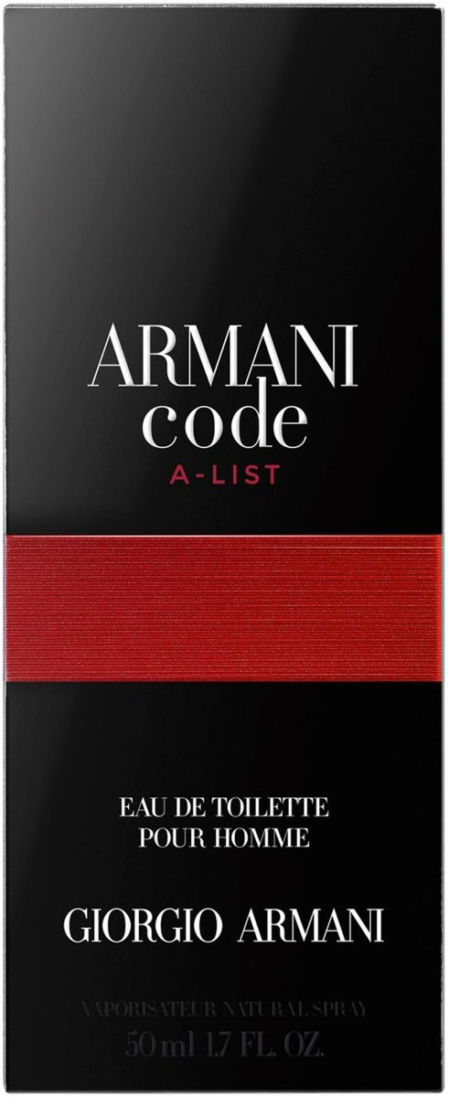 Armani Code A - List EAU DE Toilette 50ml