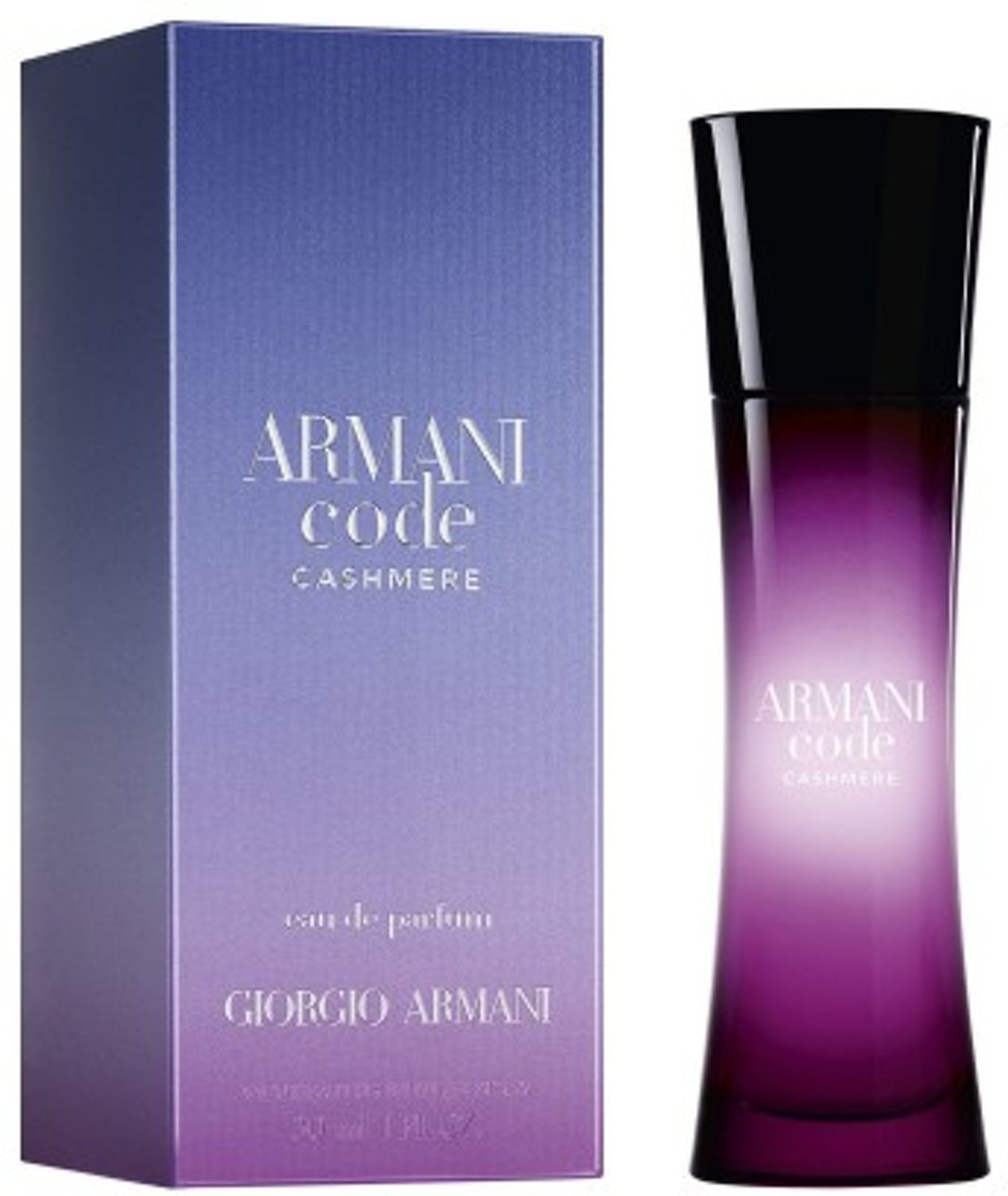 Armani Code Cashmere By Giorgio Armani Eau De Parfum Spray 75 ml - Fragrances For Women