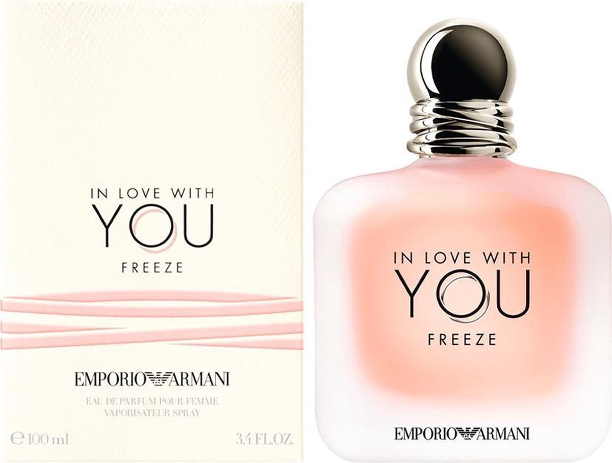 Armani  Emporio  In Love With You Freeze eau de parfum 100ml eau de parfum