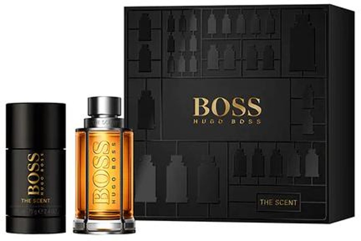 Boss The Scent For Man SET Eau de toilette spray 50ml + deodorant stick 75ml