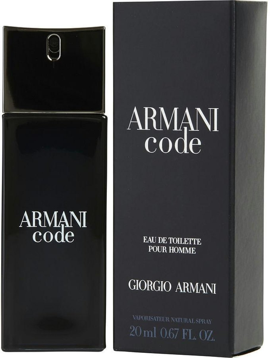 Giorgio Armani Code Men - 20 ml - Eau de toilette