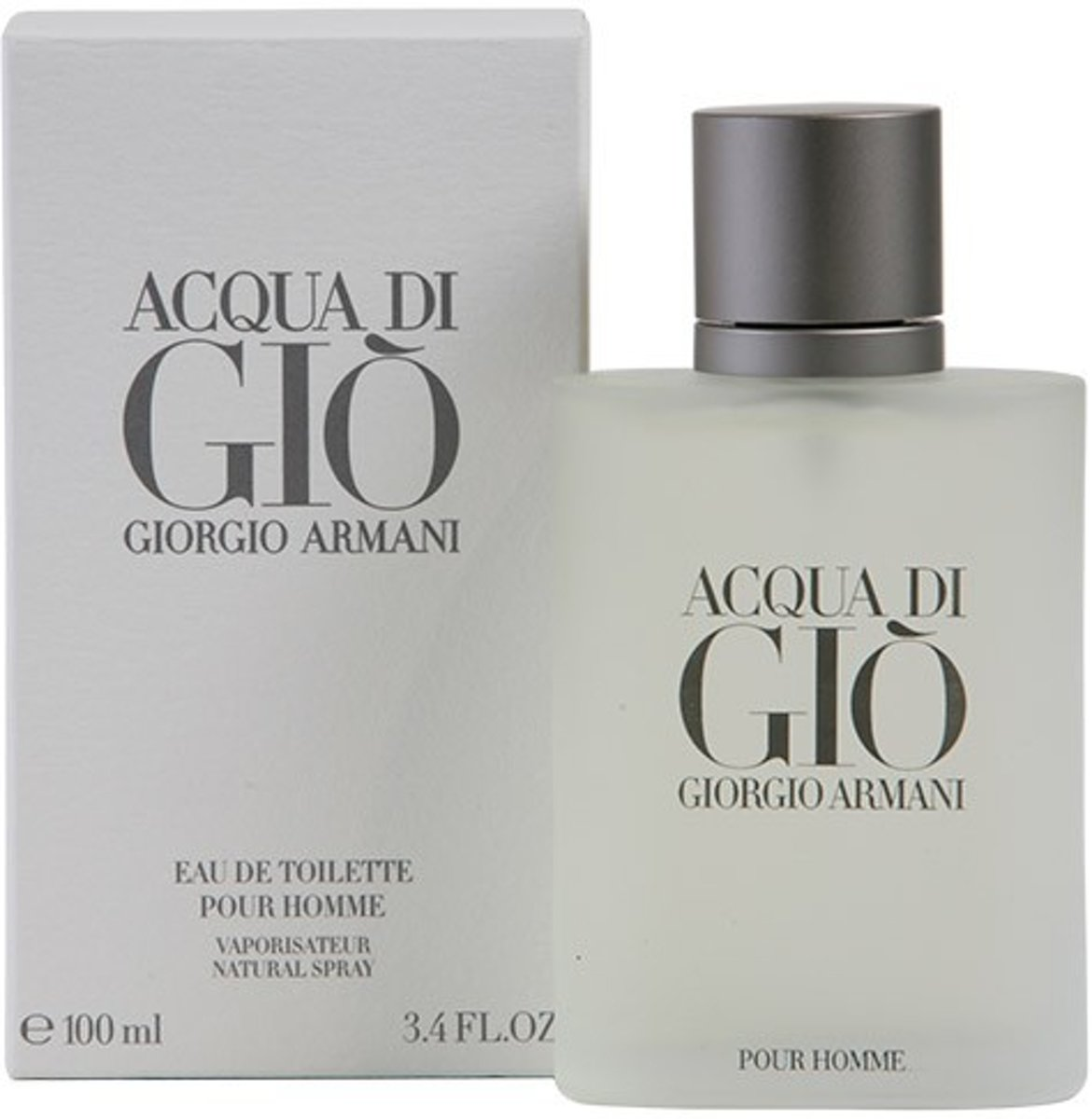 MULTI BUNDEL 2 stuks ACQUA DI GIO POUR HOMME Eau de Toilette Spray 100 ml