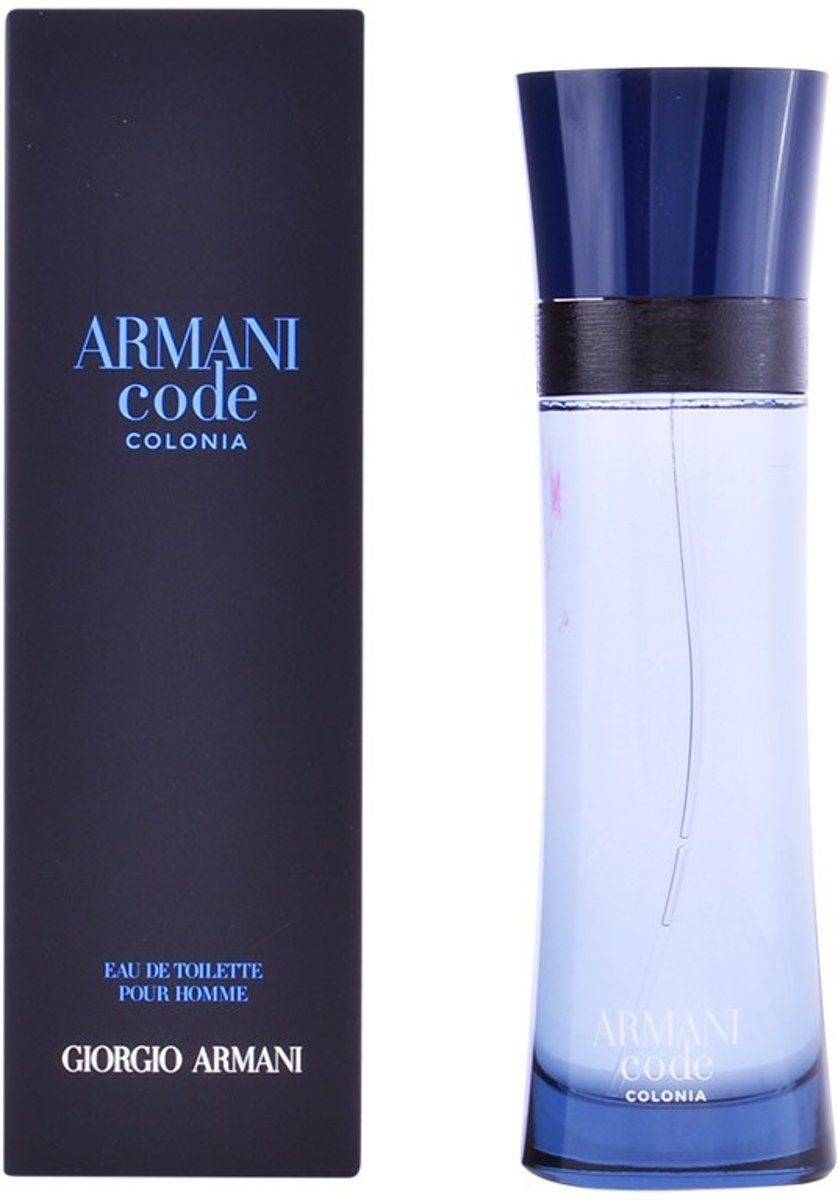 MULTI BUNDEL 2 stuks ARMANI CODE colonia Eau de Toilette Spray 125 ml