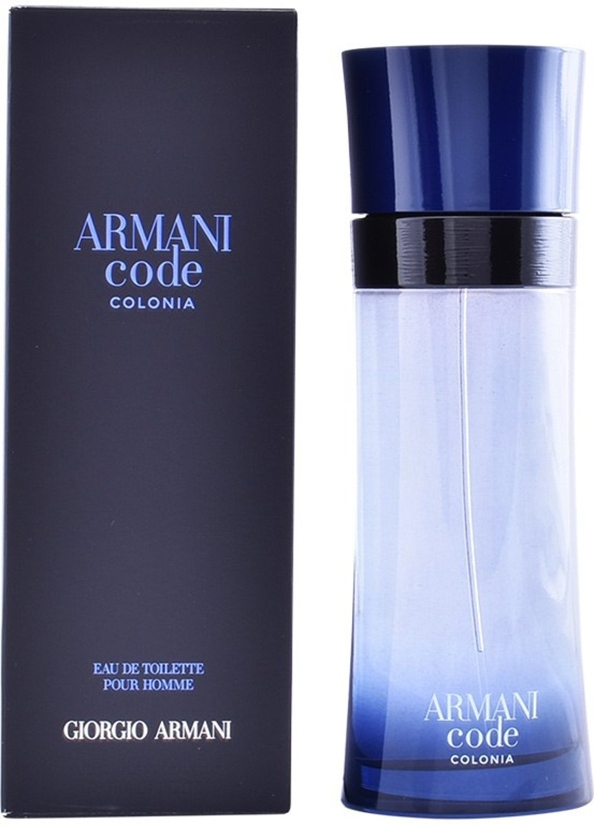 MULTI BUNDEL 2 stuks ARMANI CODE colonia Eau de Toilette Spray 200 ml
