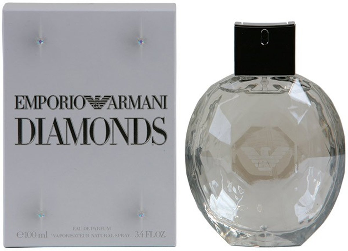MULTI BUNDEL 2 stuks DIAMONDS Eau de Perfume Spray 100 ml