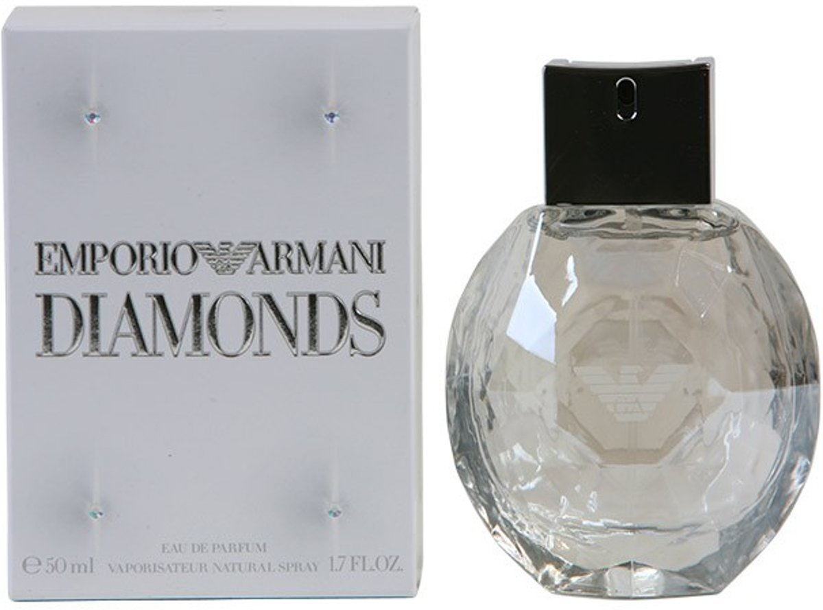 MULTI BUNDEL 2 stuks DIAMONDS Eau de Perfume Spray 50 ml