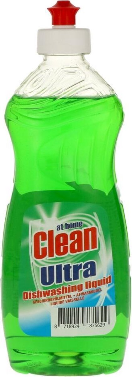 12x At Home Clean Ultra Afwasmiddel Classic 500 ml