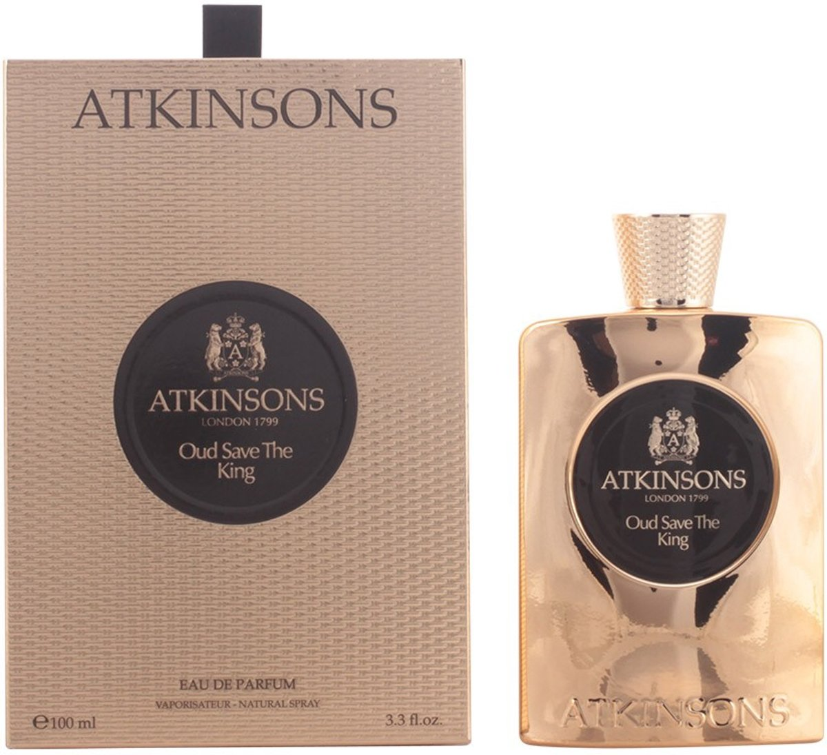Atkinsons - OUD SAVE THE KING - eau de parfum - 100 ml