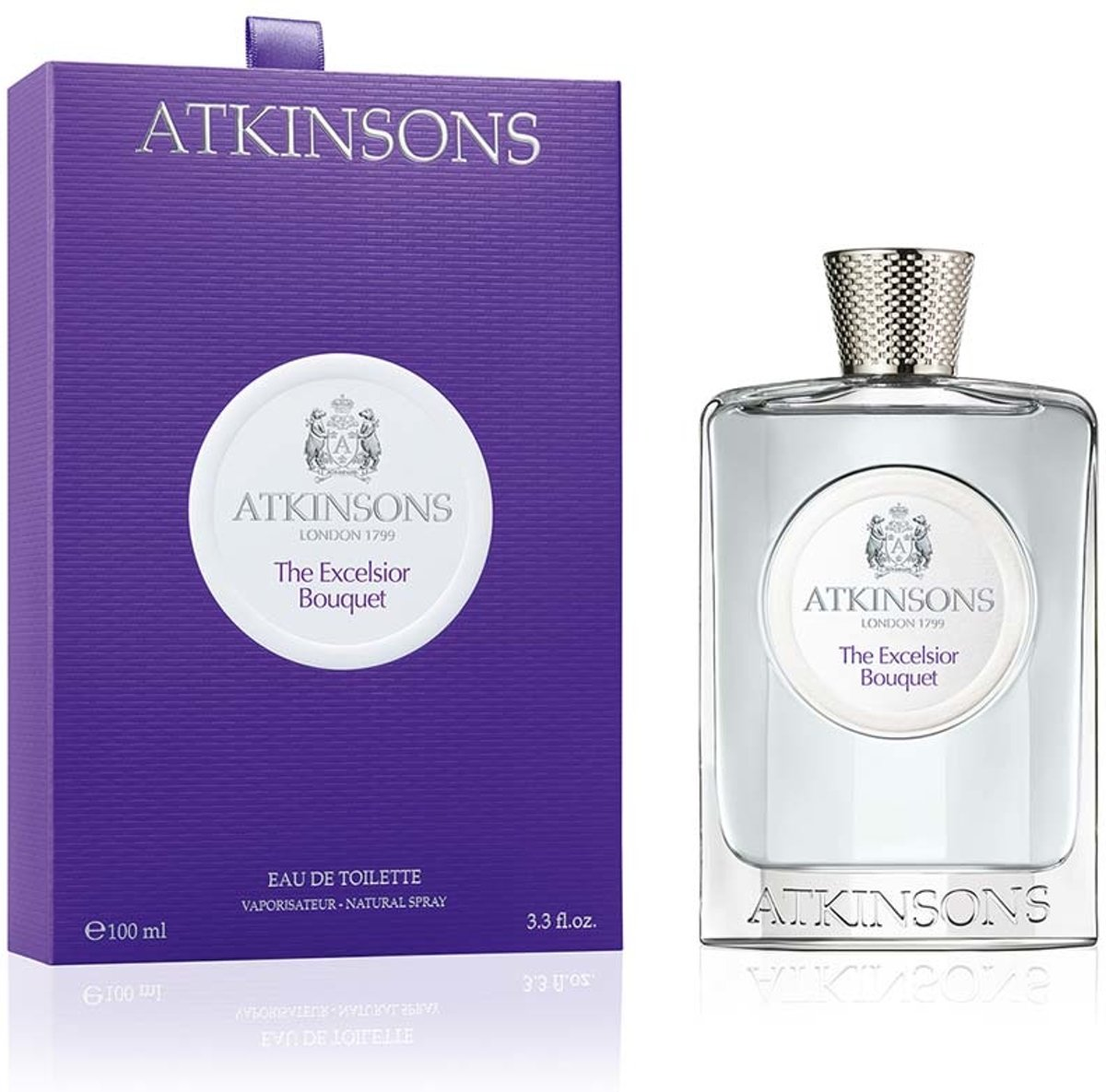 Atkinsons 1799 The Excelsior Bouquet 100ml eau de toilette