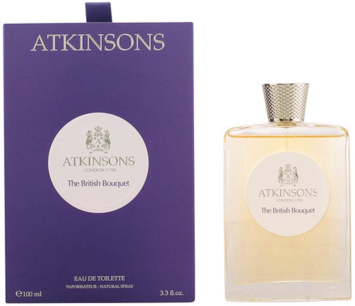 Atkinsons The Legendary Collection The British Bouquet Eau de Toilette Spray 100 ml