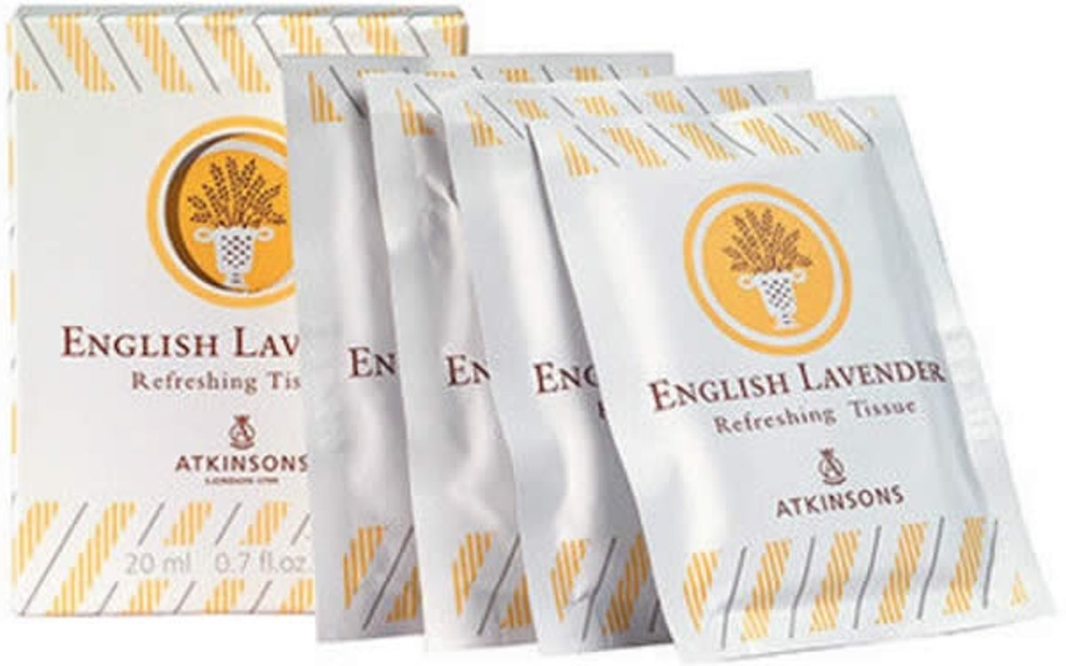 English Lavender Perfumed Tissues 10 Units