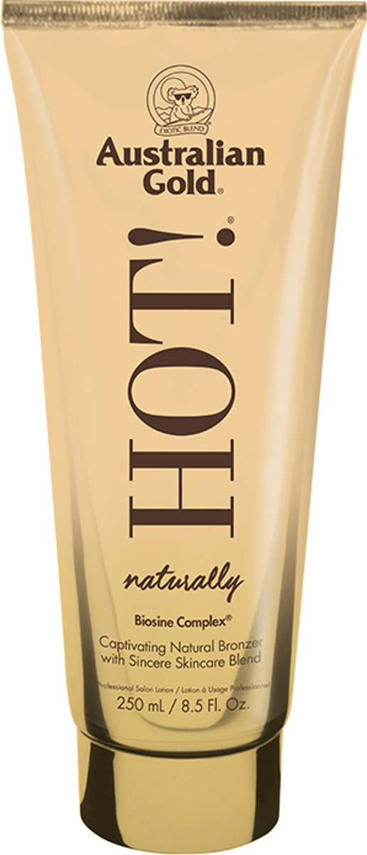 Australian Gold Naturally Hot! - 250 ml - zonnebankcrème