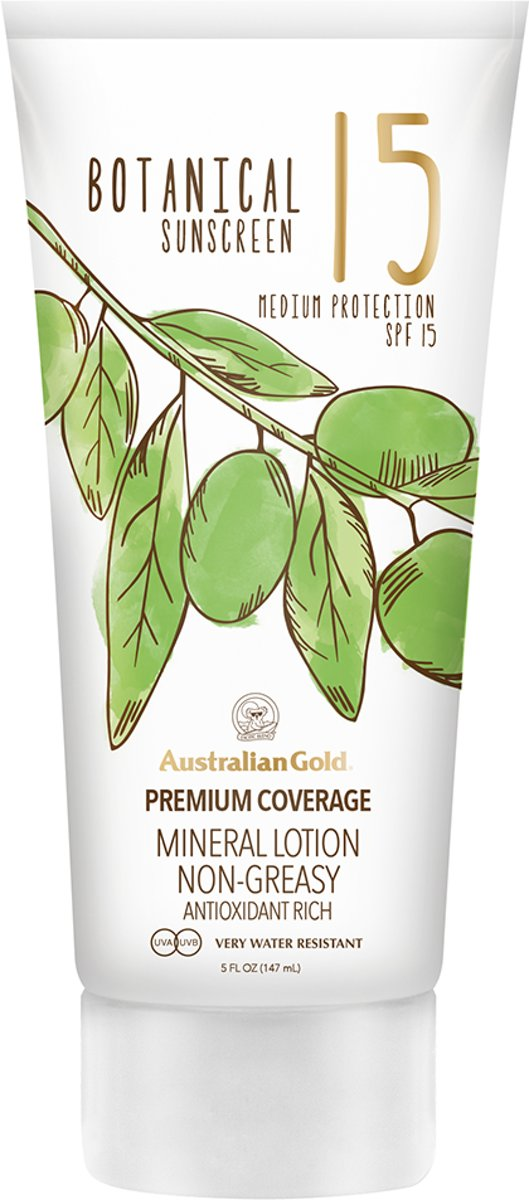 Australian Gold SPF 30 Botanical Lotion Zonnebrand - 147 ml
