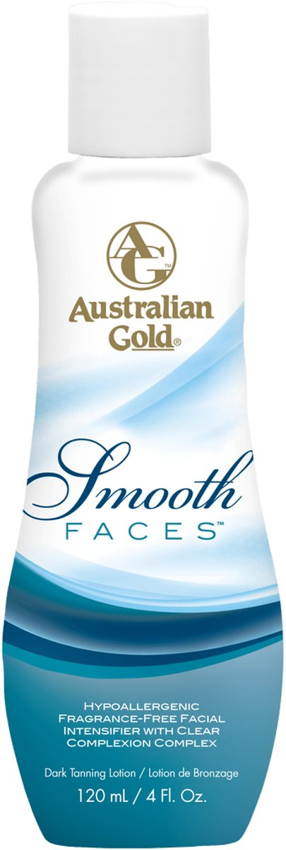 Australian Gold Smooth Faces Zonnebanklotion - 120 ml