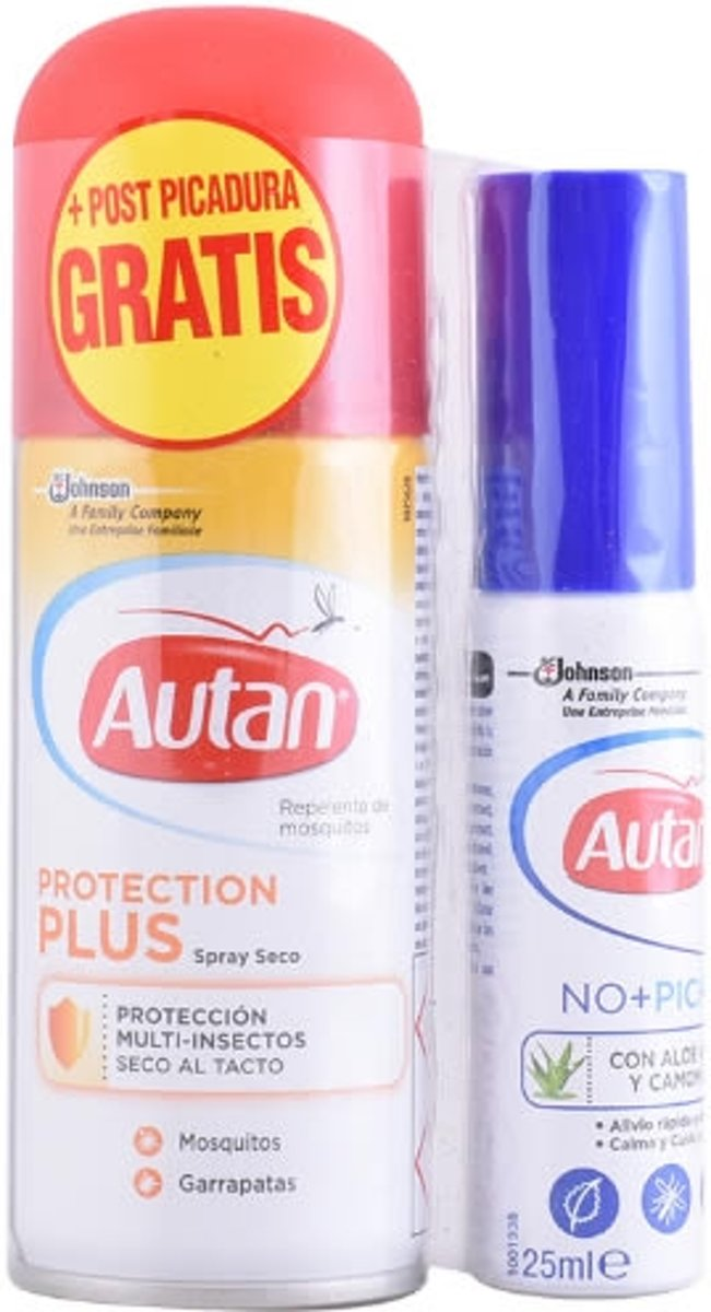 Autan Dry Mosquito Repellent Spray 100ml Set 2 Pieces