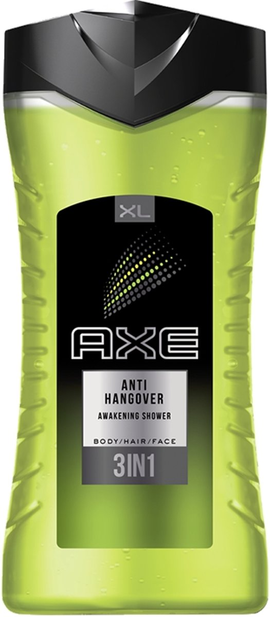 AXE Anti-Hangover douchegel Mannen Lichaam & haar 400 ml