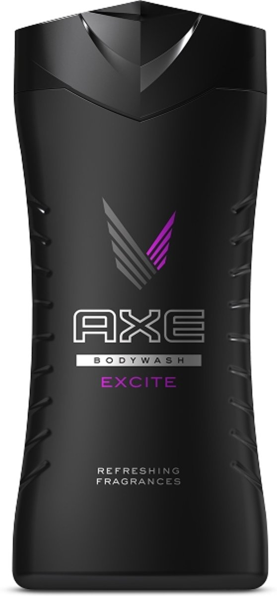 AXE Excite Mannen Lichaam Karamel, Coconut, Hazelnoot 250ml douchegel